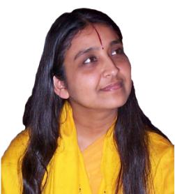 Siddheshvari Deviji fondly called Didiji, a disciple of Jagatguru Kripaluji Maharaj